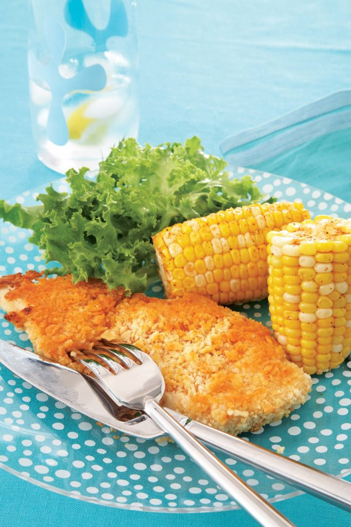 Potato Chip Crusted Chicken Official Site For Celebrity Chef Devin